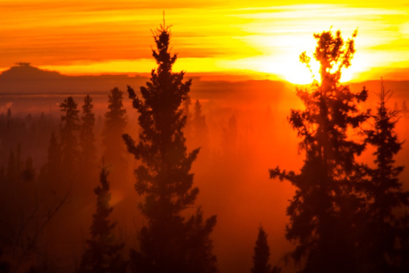"""The sun rises over the Tanana Valley about 10:15 on a cold November morning.  <div class=""""ss-paypal-button"""">Filename: AKA-12-3663-7.jpg</div><div class=""""ss-paypal-button-end"""" style=""""""""></div>"""