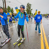 "Members of the Nanook ski team were among more than 100 UAF students, staff and faculty who braved the rainy weather to participate in the 2012 Golden Days Parade.  <div class=""ss-paypal-button"">Filename: AKA-12-3472-21.jpg</div><div class=""ss-paypal-button-end"" style=""""></div>"