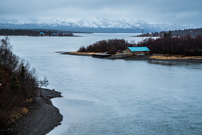 The village of Aleknagik lies at the south end of a lake of the same name, about 15 miles up the Wood River from Dillingham in Alaska's Bristol Bay.  Filename: AKA-16-4860-512.jpg