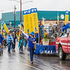 "The UAF contingent heads out of the Carlson Center lot near the start of the 2012 Golden Days parade.  <div class=""ss-paypal-button"">Filename: AKA-12-3472-15.jpg</div><div class=""ss-paypal-button-end"" style=""""></div>"