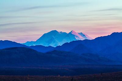 Mt. McKinley is North American's highest peak.  Filename: AKA-13-3942-393.jpg