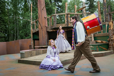 "The Fairbanks Shakespeare Theatre performs ""As You Like It"" in summer of 2014 at the Jack Townshend Point theatre on campus.  Filename: AKA-14-4247-12.jpg"