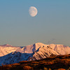 "A three-quarter moon rises over a ridge inside Denali National Park and Preserve.  <div class=""ss-paypal-button"">Filename: AKA-13-3942-390.jpg</div><div class=""ss-paypal-button-end"" style=""""></div>"