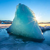 "An iceberg is frozen in place near Juneau's Mendenhall Glacier.  <div class=""ss-paypal-button"">Filename: AKA-14-4059-192.jpg</div><div class=""ss-paypal-button-end"" style=""""></div>"