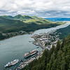 Areal View of Juneau