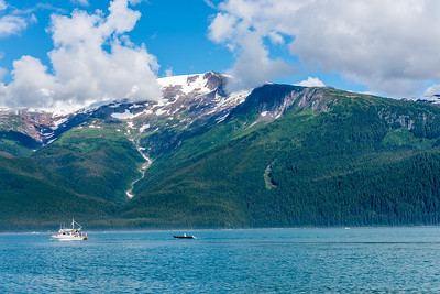 Boating Tracy Arm