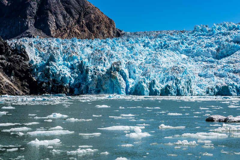 Calving Sawyer Glacier