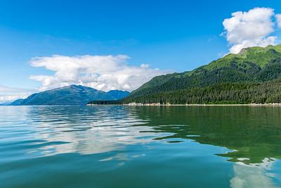 Shoreline Mountain Reflections