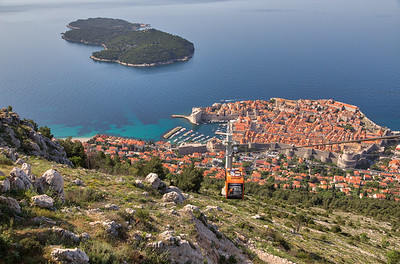 Croatia - Dubrovnik Aerial Views -6