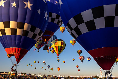 balloons at Festival - -101