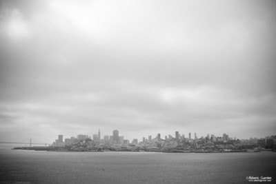 San Francisco from Alcatraz