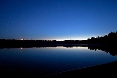 Algonquin Moonset