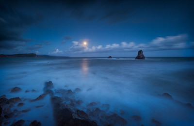 Mupe Bay Full Moon