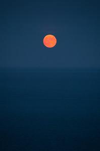 Moon Rise, South Devon