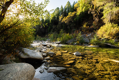 Fall on the Yuba River
