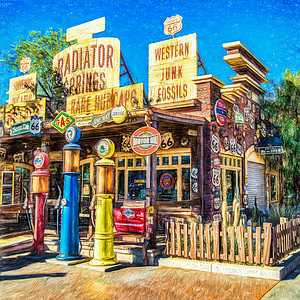 Disney California Adventure - Cars Land