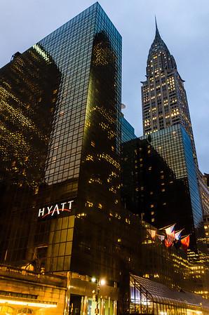 Hyatt and Chrysler