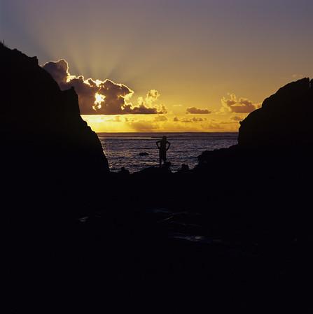 Black Rock Sunset