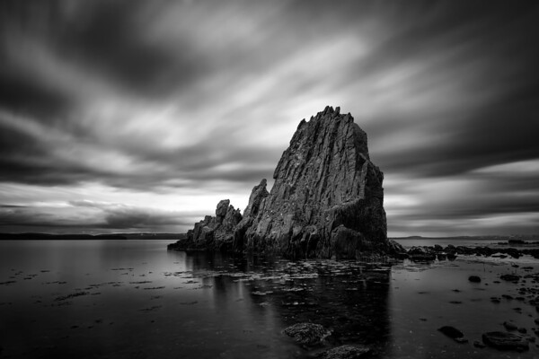 Photograph: Ánastaðastapi - Ánastaðastapi rock off the coast of the Vatnsnes Peninsula in northern Iceland.