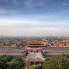 Forbidden Cityscape<br /> View of Beijing's Forbidden City from Jingshan Park