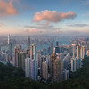 Hong Kong Sunset<br /> Sunset over Hong Kong from Victoria Peak.