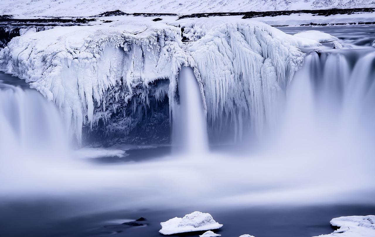 The Frozen Teeth of Godafoss