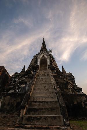 Wat Phra Si Samphet - Prang