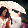 Girl with the Umbrella<br /> A girl in Macau carrying an umbrella beneath the Ruin's of St Pauls