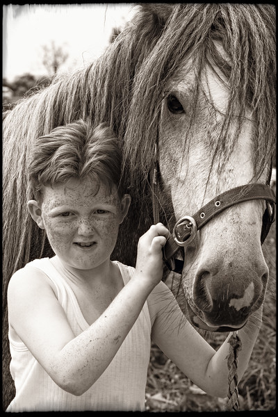 HORSE AND LAD