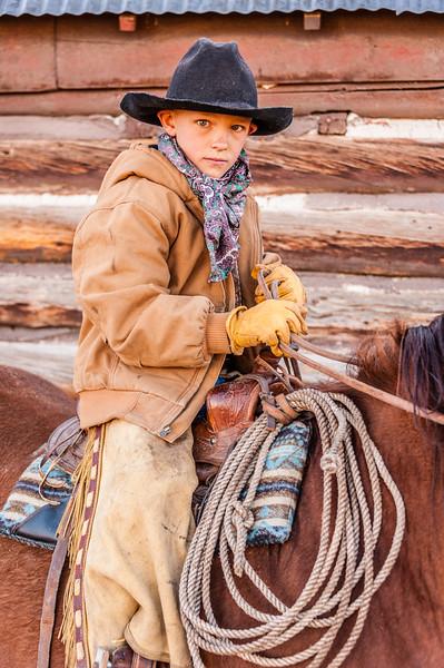 """""""Branding"""" Gunnison, Colorado"""