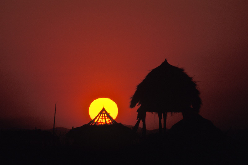 MUJERE SUNSET, ZIMBABWE