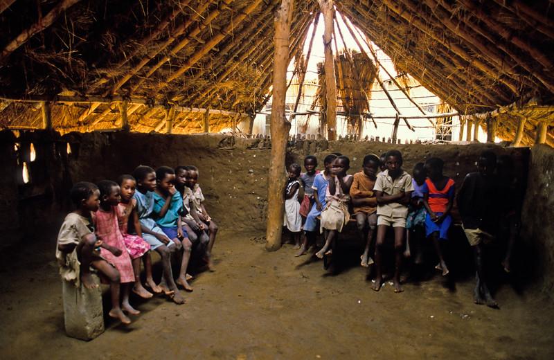 """""""Scool Time"""" Tonka Village, Zimbabwe"""