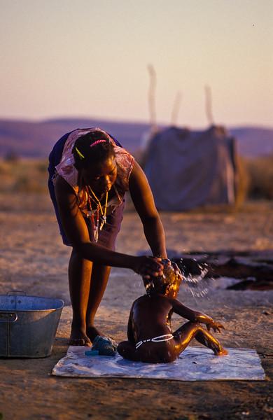"""""""Bath Time"""" Mujere, Zimbabwe"""