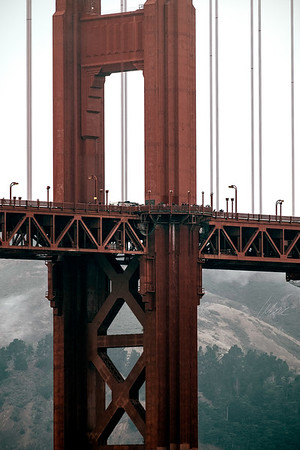 Golden Gate Close-Up