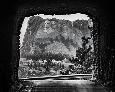 """Rushmore Through A Tunnel"""
