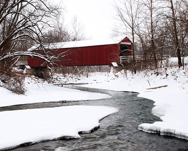 """The Red Covered Bridge"""