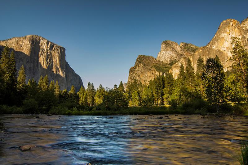 Merced River El Capitan Meadow Yosemite National Park