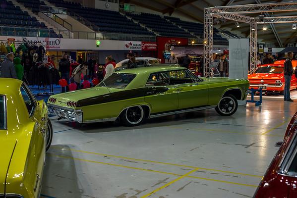 American car show Oulu 2014