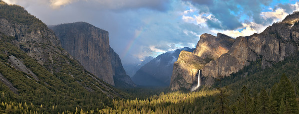 Unsettled Skies - Yosemite Valley