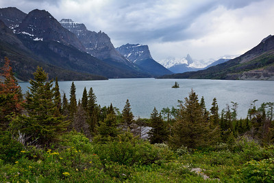 Late Spring Storm - St. Mary Lake