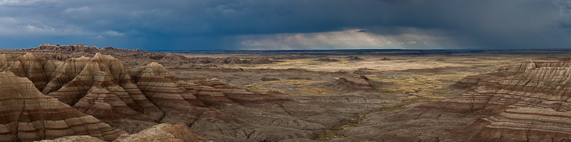 Storm Over Badlands