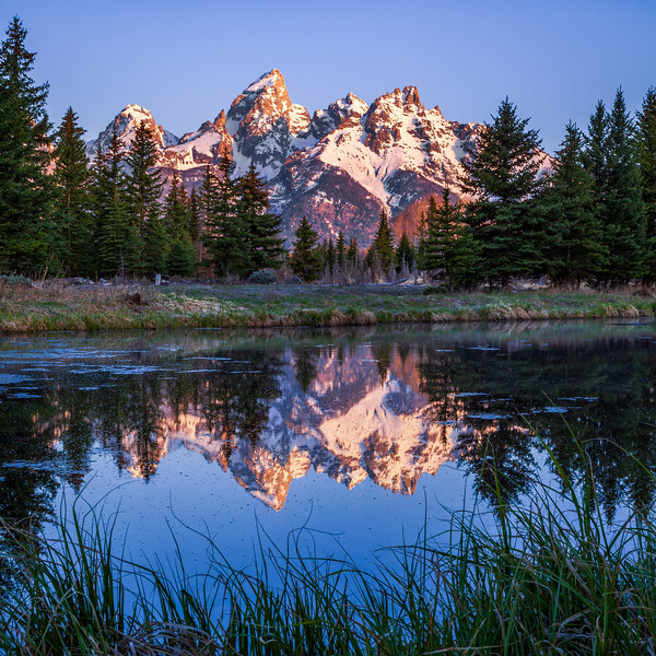 Teton Reflection - Snake River