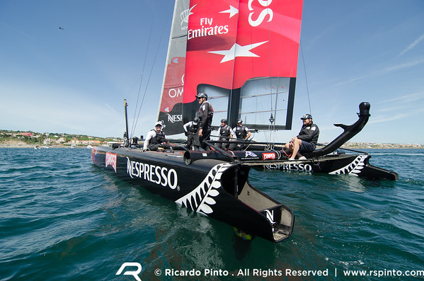 14/08/2011 - Cascais (PRT) - 34th America's Cup - AC World Series - Cascais 2011 -  Racing Day 9 - © Ricardo Pinto - www.rspinto.com