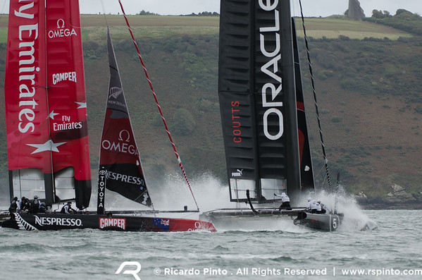 """18/09/2011 - Plymouth (UK) - 34th America's Cup - AC World Series - Plymouth 2011 -  Racing Day 7 -  © Ricardo Pinto -  <a href=""""http://www.rspinto.com"""">http://www.rspinto.com</a>"""