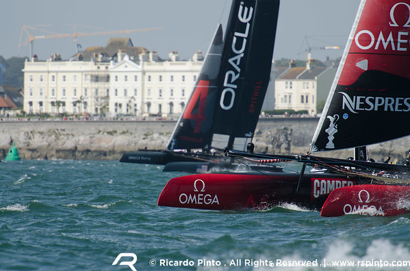 """11/09/2011 - Plymouth (UK) - 34th America's Cup - AC World Series - Plymouth 2011 -  Racing Day 2 -  © Ricardo Pinto -  <a href=""""http://www.rspinto.com"""">http://www.rspinto.com</a>"""