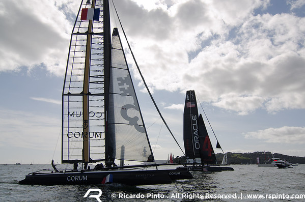 """14/09/2011 - Plymouth (UK) - 34th America's Cup - AC World Series - Plymouth 2011 -  Racing Day 3 -  © Ricardo Pinto -  <a href=""""http://www.rspinto.com"""">http://www.rspinto.com</a>"""