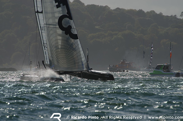 """16/09/2011 - Plymouth (UK) - 34th America's Cup - AC World Series - Plymouth 2011 -  Racing Day 5 -  © Ricardo Pinto -  <a href=""""http://www.rspinto.com"""">http://www.rspinto.com</a>"""