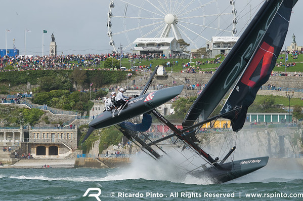 11/09/2011 - Plymouth (UK) - 34th America's Cup - AC World Series - Plymouth 2011 -  Racing Day 2