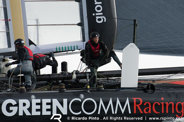 """08/09/2011 - Plymouth (UK) - 34th America's Cup - AC World Series - Plymouth 2011 -  Training Day 4 - © Ricardo Pinto -  <a href=""""http://www.rspinto.com"""">http://www.rspinto.com</a>"""