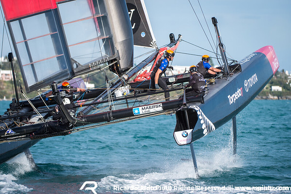 Training Day -2 of Louis Vuitton America's Cup World Series Bermuda
